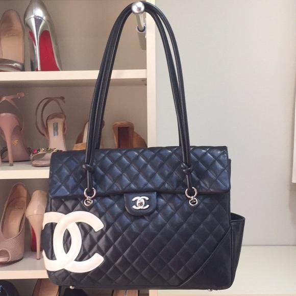 28e529e557c8 CHANEL Bags | Cambon Linge Flap Bag | Poshmark
